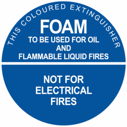 fire_extinguisher_identification_sign_foam_type_2