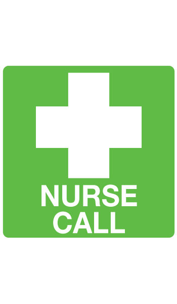 nurse-call-cross-sticker
